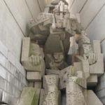 Экскурсия на Памятник 1300-летию Болгарии, Мадарский всадник, Вбитые камни