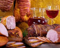 Мясные продукты в Болгарии