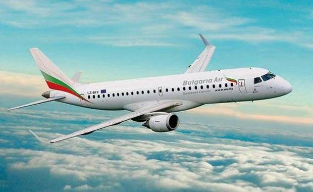 Самолет из Софии в Бургас