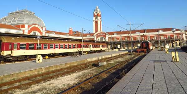 Из Софии в Варну на поезде