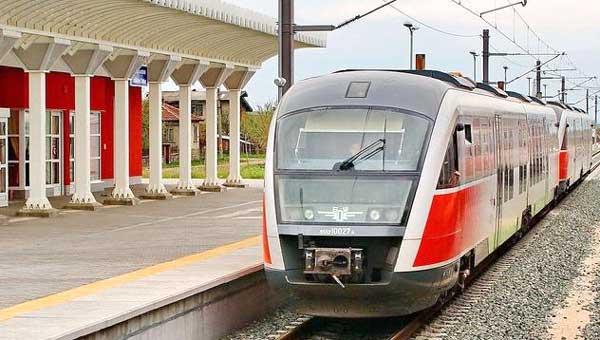 Из Софии в Пловдив на поезде